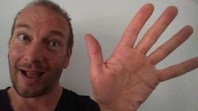 Caméra frontale et mode Selfie du HTC One M8 Pascal Forget