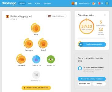 Duolingo apprendre l'espagnol