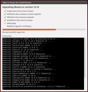 Mise à jour Ubuntu 1410