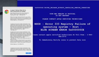 Your Mac Health is critical do not restart 1-844-880-6773