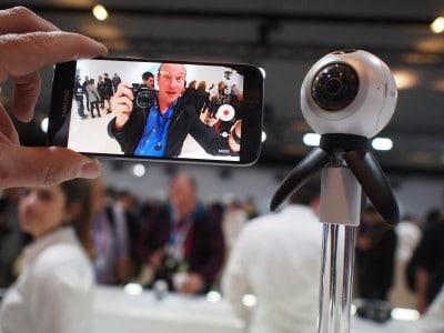 MWC 2016 caméra 360 Samsung
