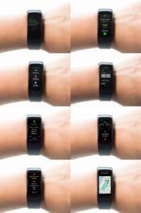 Écran du Gear Fit 2 Samsung