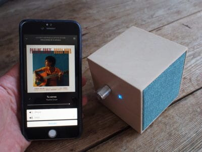 Mini haut-parleur FM-300 bluetooth
