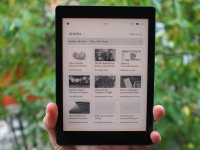 kobo aura one liseuse grand format pour lire la nuit pascal forget. Black Bedroom Furniture Sets. Home Design Ideas