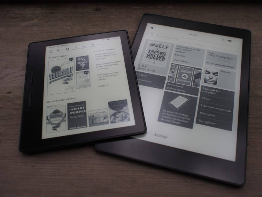 Liseuses Kobo Kindle ebook