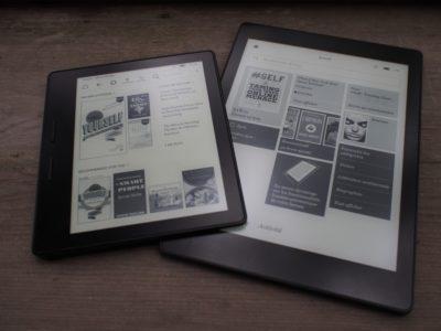 Kobo Aura ONE vs Oasis Kindle