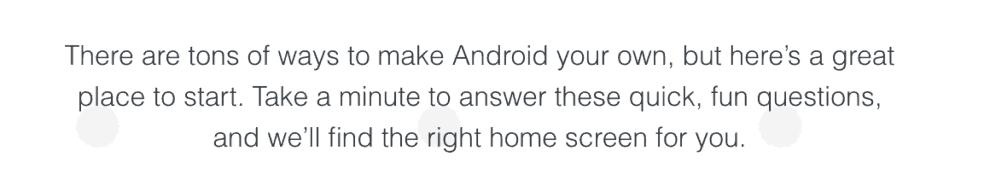 #myAndroid: votre téléphone Android à votre goût