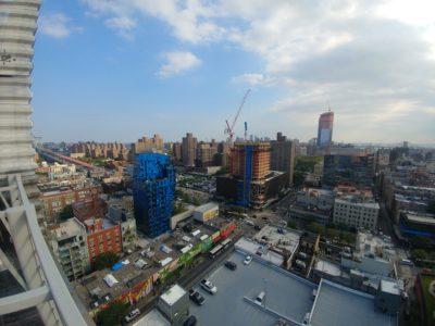 Photo prise avec LG V30 grand angle New York