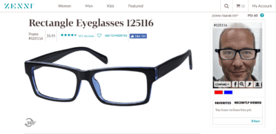 Lunettes Zenni optical 6,95$